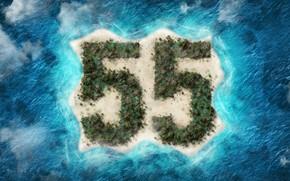 Картинка море, остров, 55