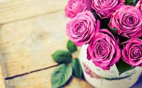Картинка фон, розы, букет, розовые