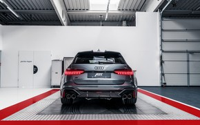 Картинка Audi, вид сзади, ABT, универсал, TFSI, RS 6, 2020, RS6-R, V8 Twin-Turbo, RS6 Avant, 4.0 …