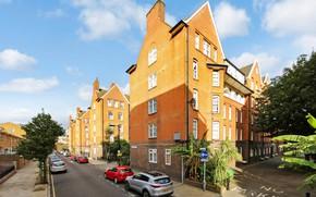 Картинка город, улица, Лондон, London, Dauncey House