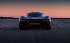Картинка McLaren, вечер, суперкар, вид сзади, гиперкар, 2019, Speedtail