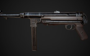 Картинка Германия, MP 40, Пистолет-пулемёт, Heinrich Vollmer