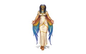 Картинка фон, бог, змея, египет