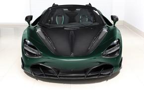 Картинка McLaren, суперкар, вид спереди, Spider, TopCar, Fury, 2020, 720S
