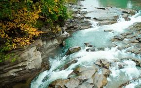 Картинка осень, пейзаж, природа, река, nature