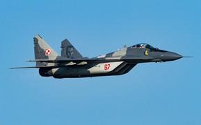 Обои ВВС Польши, многофункциональный истребитель, МиГ-29М