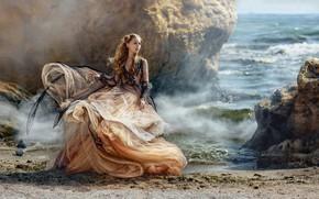 Картинка beach, photography, retro, art
