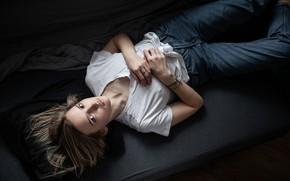 Картинка джинсы, родинка, губки, Андрей Фролов