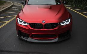 Обои BMW, Light, RED, Angry, F80, LED