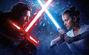 Картинка фантастика, Star Wars, Звёздные войны, сага, The Rise of Skywalker, Скайуокер. Восход