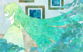 Картинка Lancer, Wallpaper, Fanart, Fate/Grand Order, Pixiv, Fanart From Pixiv, Pixiv Id 23969749, Lancer (Fate/strange fake)