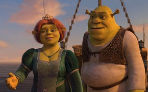 Картинка любовь, шрек, Shrek, Фиона