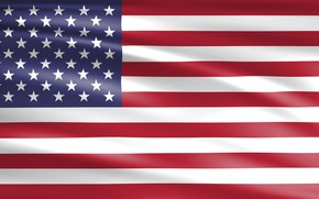 Картинка USA, Star, American, Flag, America, American Flag, Float, United Staes, Streak, Ensign, National Flag