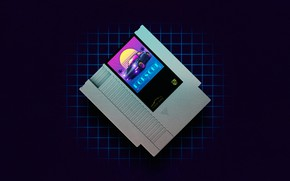 Картинка Музыка, Стиль, Фон, Арт, Art, 80s, Style, Neon, Illustration, 80's, Synth, Retrowave, Synthwave, New Retro …