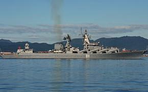Картинка крейсер, ракетный, проект 1164, Варяг