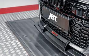 Картинка Audi, элементы, решётка, ABT, универсал, TFSI, RS 6, 2020, RS6-R, V8 Twin-Turbo, RS6 Avant, 4.0 …