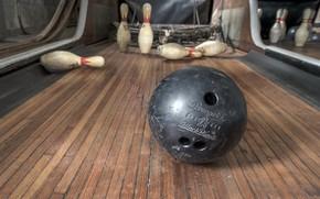 Картинка шар, кегли, боулинг