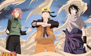 Картинка Наруто, Naruto, команда 7