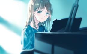 Картинка аниме, девочка, suzumi konbu