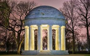 Картинка Вашингтон, США, D.C. War memorial