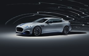 Картинка Aston Martin, Rapide, 2019, Rapide E