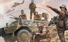 Обои Bundeswehr, German military men, Present day, Современная немецкая армия