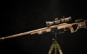 Картинка оружие, фон, снайперская винтовка