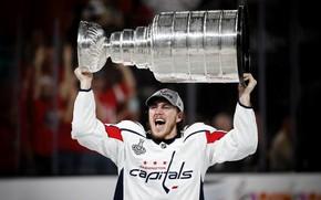 Картинка Игра, Спорт, Лед, Вашингтон, Лёд, Washington, 2018, NHL, НХЛ, Washington Capitals, Cup, Хоккей, Вашингтон Кэпиталз, …