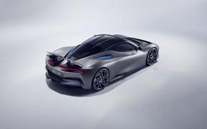 Картинка суперкар, вид сзади, гиперкар, Pininfarina, Batista, 2019