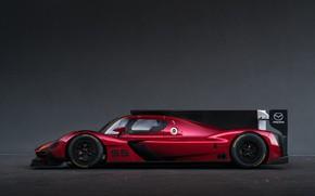 Картинка Профиль, Mazda, Диски, Sports car, 2017, Спортпрототип, 24 Hours of Daytona, Mazda RT24-P, Гонка на …