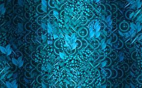 Картинка круги, абстракция, фон, текстура, виноград, background