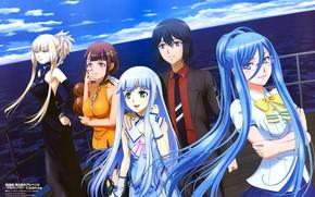 Картинка Anime, Hyuuga, Takao, Kongou, Iona, Arpeggio of Blue Steel
