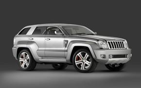 Картинка Concept, сбоку, 2007, Jeep, Trailhawk