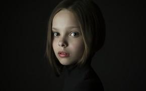 Картинка девочка, веснушки, Давыденко Мария
