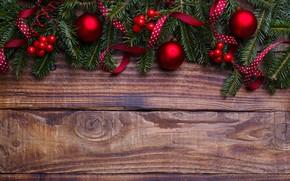 Картинка шары, елка, Новый Год, Рождество, Christmas, balls, wood, New Year, decoration, Merry, fir tree, ветки …