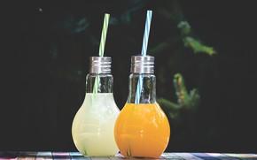 Картинка бутылки, лимонад, натиток