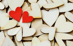 Картинка любовь, дерево, сердце, сердечки, red, love, wood, romantic, hearts