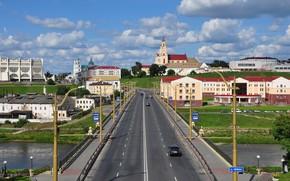 Картинка мост, гродно, беларусь, неман