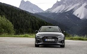 Картинка Audi, спереди, универсал, 2019, A4 Avant, S4 Avant