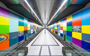 Картинка метро, станция, тоннель, платформа, Underground
