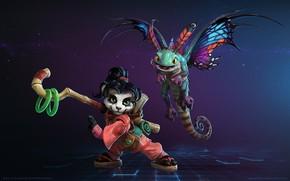 Картинка Dragon, WarCraft, WarCraft 3, Mr--Jack, Li Li, World of WarCraft, Faerie Dragon, Mr Jack, by ...