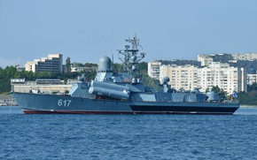 Картинка корабль, черное море, ракетный, мираж, севастополь
