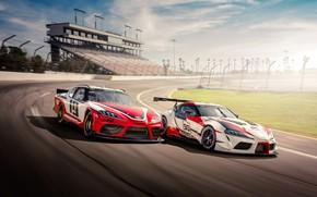 Картинка Toyota, Supra, 2018, GR Supra Racing Concept, Xfinity