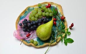 Картинка груша, фрукты, натюрморт