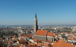 Картинка Германия, Бавария, церковь, St. Martin's Church