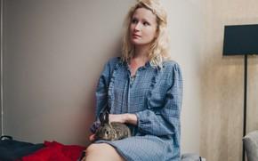 Картинка лицо, стена, волосы, кролик, певица, музыкант, Лиза, Монеточка, Гырдымова Елизавета Андреевна