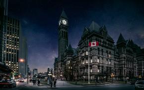 Картинка флаг, Канада, Toronto