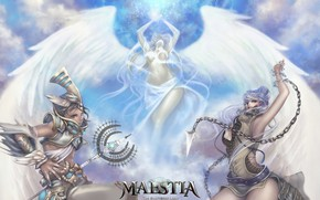Картинка девушки, ангел, Maestia