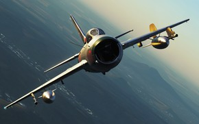 Картинка ОКБ МиГ, Истребитель-перехватчик, МиГ-19П, Первый истребитель с управляемым стабилизатором