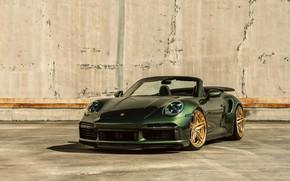 Картинка 911, Porsche, Cabrio, 992